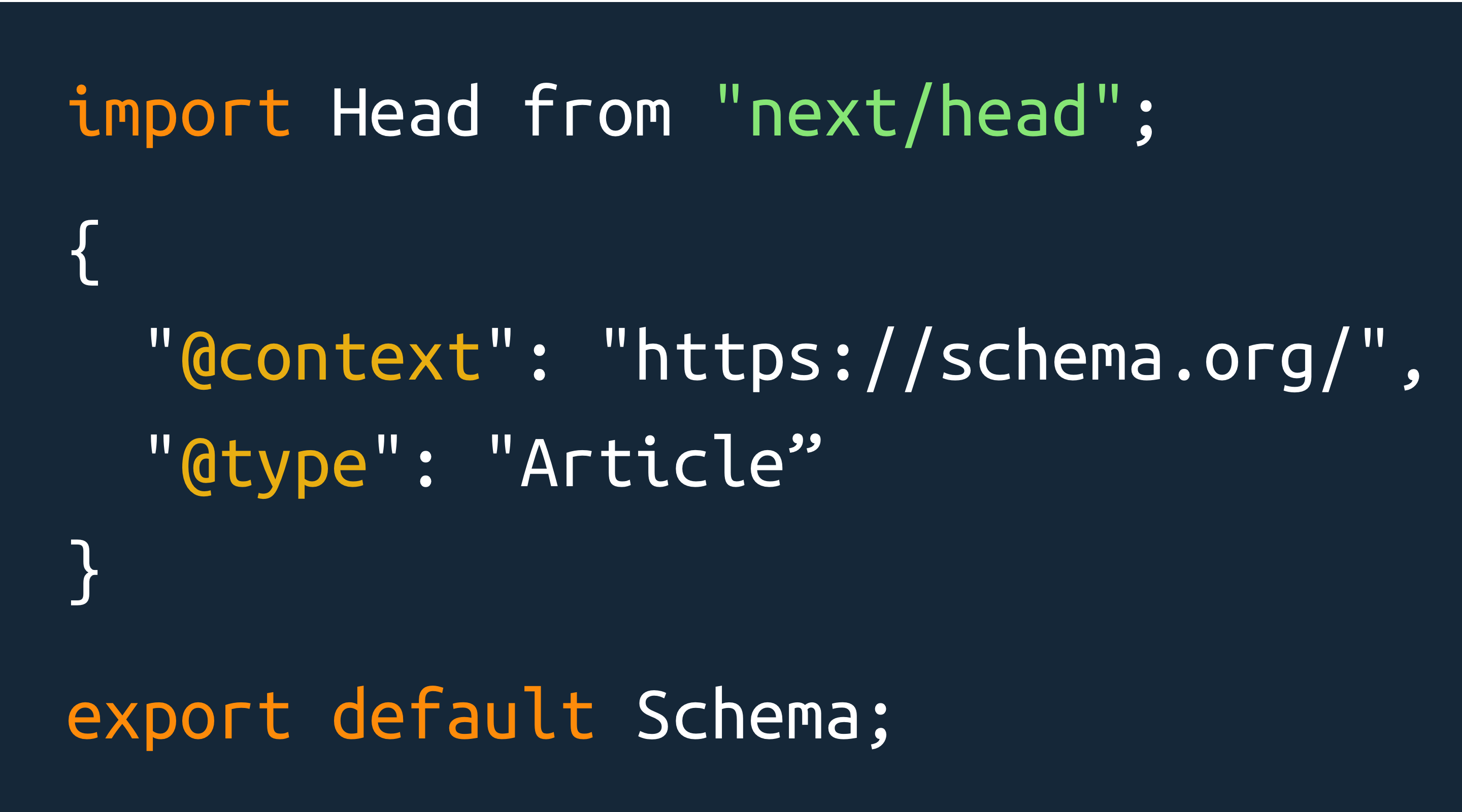 How to add Schema.org data to Next.js websites